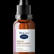 Metüülvormis B-kompleks Netokogus: 28 g  Sisaldab metaboolselt aktiivsetes vormides B12- vitamiini (metüülkobolamiinina) ja folaati (metüülfolaadina). 5-MTHF on looduslik folaadi vorm, mida leidub ka rohelistes lehtviljades. Vitamiinid B2, B3, B5, B6, B12 ja folaat aitavad vähendada väsimust ja kurnatust. Ühest pudelist jätkub ca 39 päevaks.