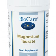 Magneesium tauraat on toidulisand, mis sisaldab mangeesiumi ja L-tauriini. Tauriin on väävlitsisaldav aminohape, mida esineb kõige rohkem südamekoes ja ajus. See mängib olulist rolli neurotransmitterite tasakaalus.