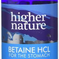 Looduslik maohappe lisand. Maohappe tase võib eaga või stressi tõttu alaneda. Mao alahappesus võib olla halva seedimise ja gaaside üks põhjuseid ning võib põhjustada ka vitamiin B12 ja teiste vitamiinide puudust. Betaine HCl sisaldab looduslikku betaiiniga seotud soolhapet.